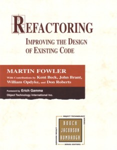 Martin Fowler - Refactoring Improving the Design of Existing Code